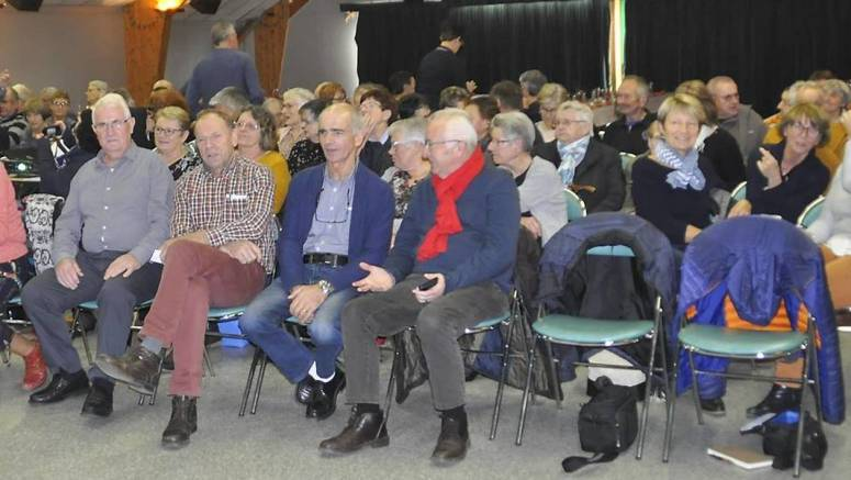 118 adhérents de La Joie de vivre ont assisté à l'assemblée générale