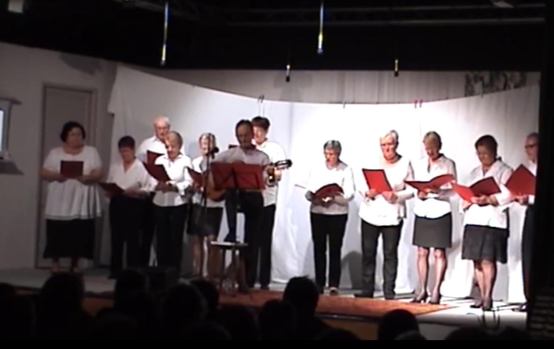 Chorale du club la joie de vivre Andel 2015